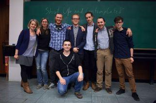 Organizers (from left to right): Annie Berezhinskaya, Angelika Schwarzhans, Emanuel Schwarzhans, Oscar Mittempergher, Thomas Zauner, Moritz Kriegleder, Flavio Del Santo, Nino Lauber